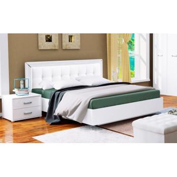 Кровать MiroMark Бэлла белый глянец
