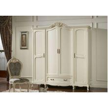 Шкаф распашной Эпока 8686 4-х дверный (белый)