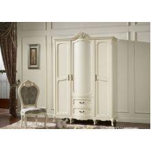 Шкаф распашной Эпока 8686 3-х дверный (белый)