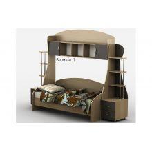 Кровать-горка Тиса Мебель Д1/1Р 80x190 меламин
