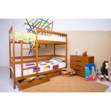 Детская двухъярусная кровать Микс мебель Дисней 80*190