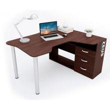 Геймерский стол  ZEUS™ IGROK-TOR, орех/орех