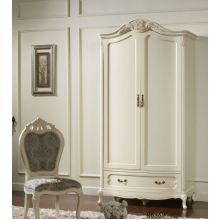 Шкаф распашной Эпока 8686 2-х дверный белый