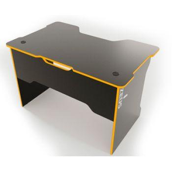 Геймерский cтол ZEUS™  TRON, черный-оранж