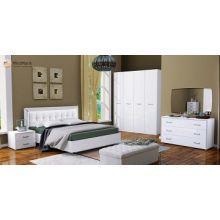 Спальня MiroMark Бэлла белый глянец