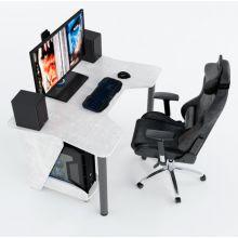 Геймерский игровой стол ZEUS™ IGROK-3, бетон                .