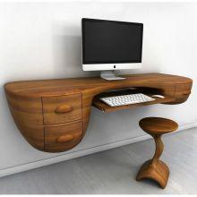 Навесной компьютерный стол MADERA (Эксклюзив)