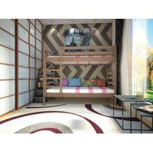 Двухъярусная кровать Тис Трансформер 1 80x190 Сосна