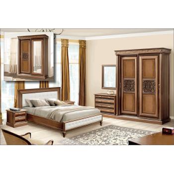 Спальня наборная «С-2» Орех Караваджо