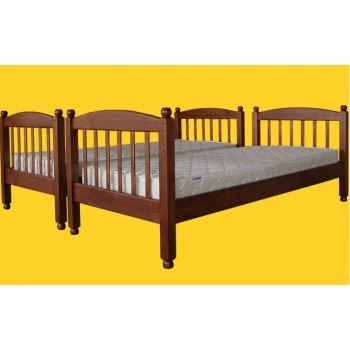 Детская двухъярусная кровать Тис Трансформер 3 80x190 Сосна