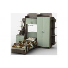 Кровать-горка Тиса Мебель Д4/1 80x190