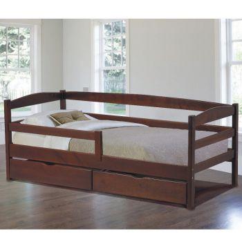 Кровать Roomerin Уно 80x190 с ящиками и защитным бортиком