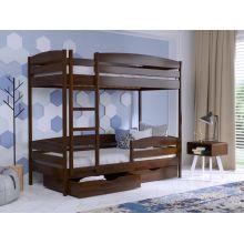 Двухъярусная кровать Эстелла Дуэт Плюс массив 80x190