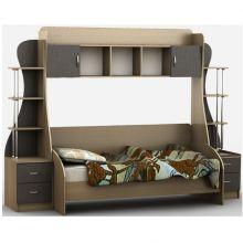 Кровать-горка Тиса Мебель Д3/1 80x190 меламин