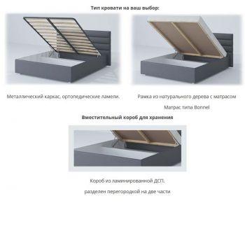 Кровать MatroLuxe Лидер 160x200
