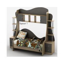 Кровать-горка Тиса Мебель Д2/1 80x190 меламин