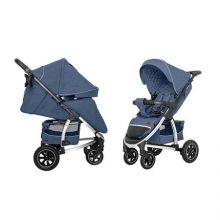 Коляска прогулочная CARRELLO Vista CRL-5511 Denim Blue в льне +дождевик L /1/