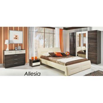 Кровать Allesia с подъемным механизмом 140x200 см