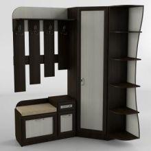 Прихожая-18 Тиса-мебель