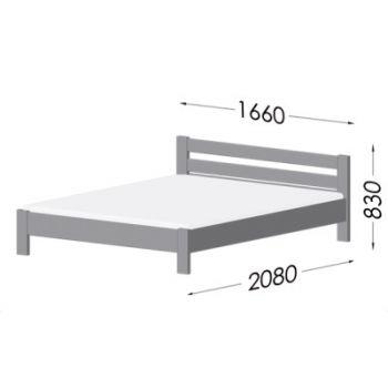 Кровать Эстелла Рената Люкс 120x200 Массив