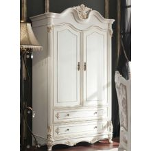 Шкаф распашной Daming 16 серия 2-х дверный белый