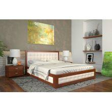 Кровать Арбор Древ Рената М 160x200 Бук с подъемником Белый