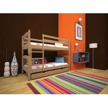 Двухъярусная кровать Тис Трансформер 3 80x190 Сосна