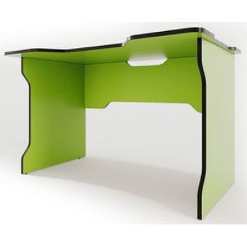 Геймерский cтол ZEUS™  TRON, зеленый